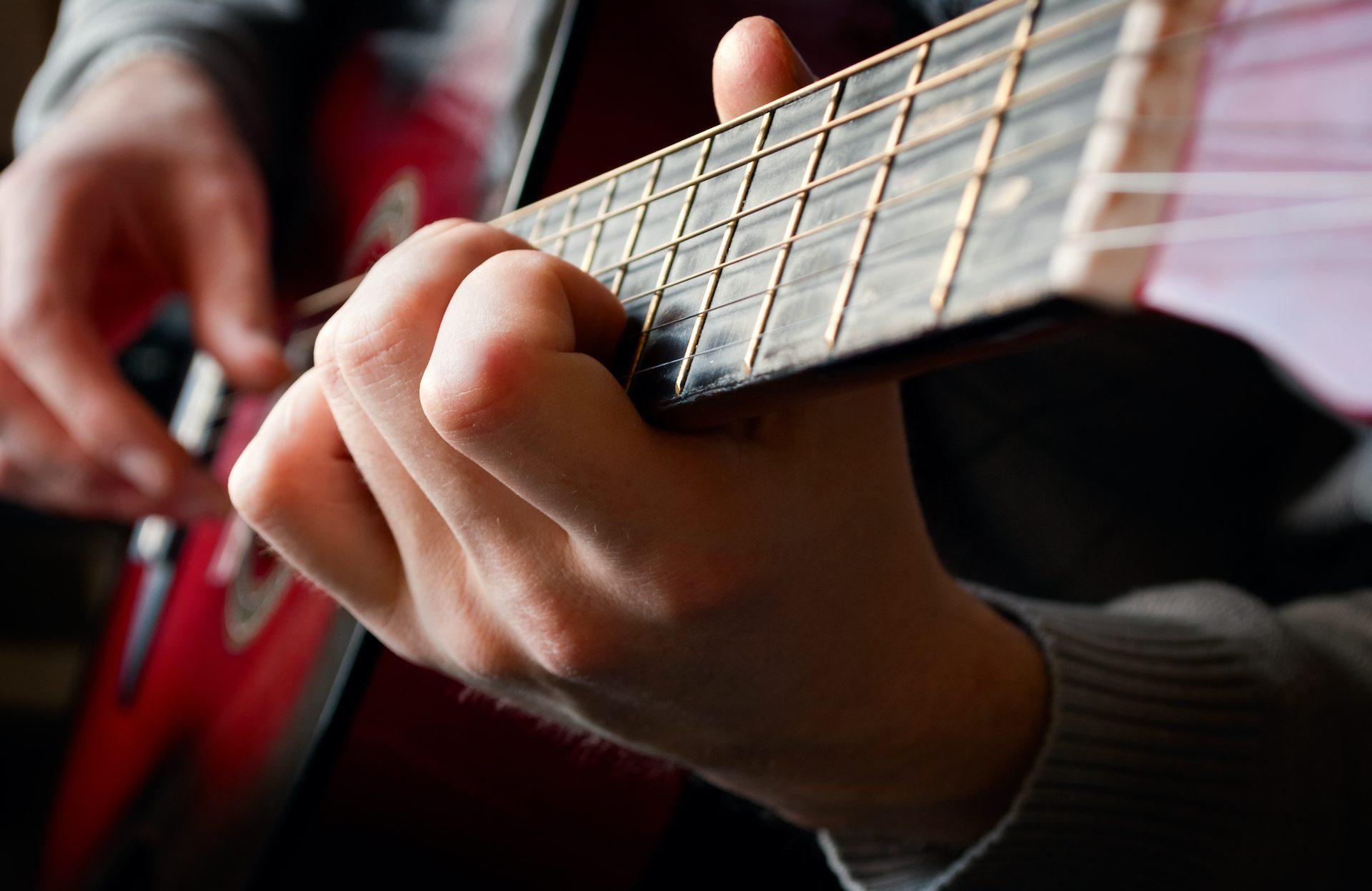 guitar DDPSS4Y 1 - Dayspring Academy